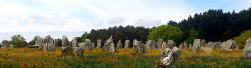 carnac stones brittany megalith