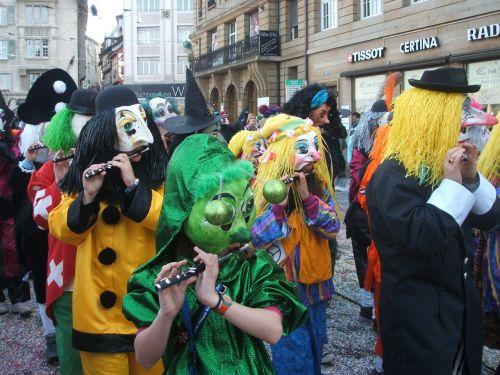 carneval flute celebrate