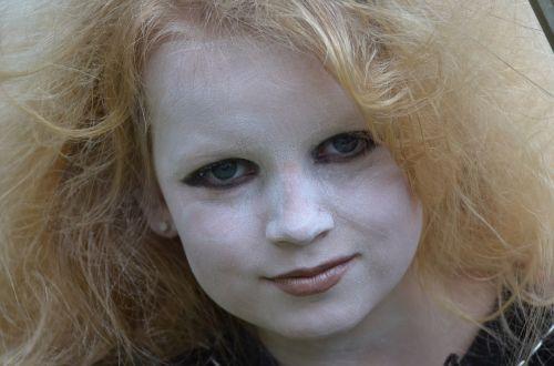carnival child hair