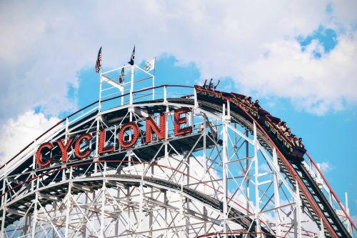 carnival coaster cyclone