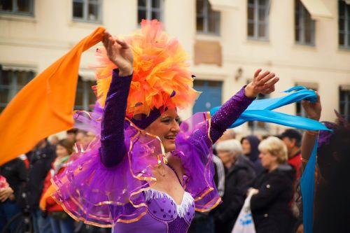 carnival fest people
