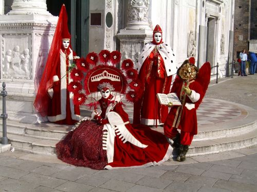 carnival venice costume