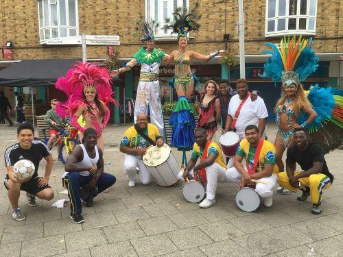 carnival london crisp street market