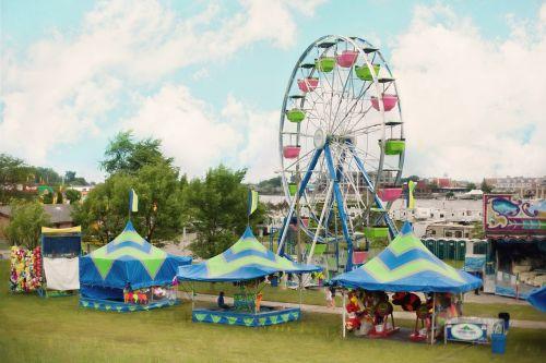 carnival summer ferris wheel