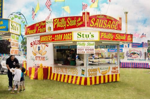 carnival summer concession stand