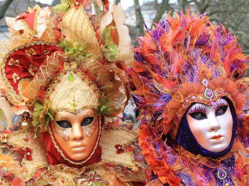 carnival masks venetian
