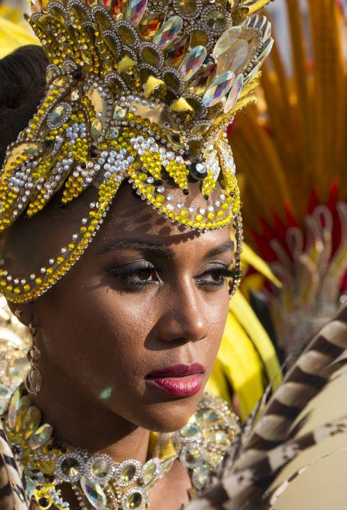 carnival woman beauty