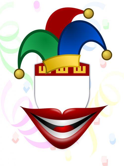 carnival mockup confetti