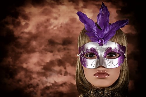 carnival  mask  woman
