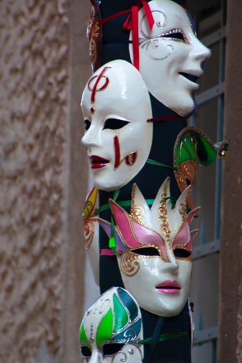 carnival  masks  romance
