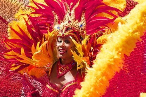 carnival woman costume