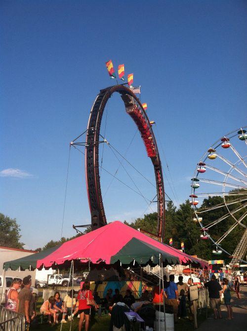 roller coaster carnival fair
