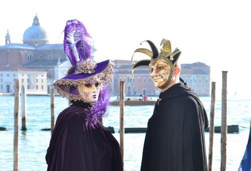 carnival venice masks