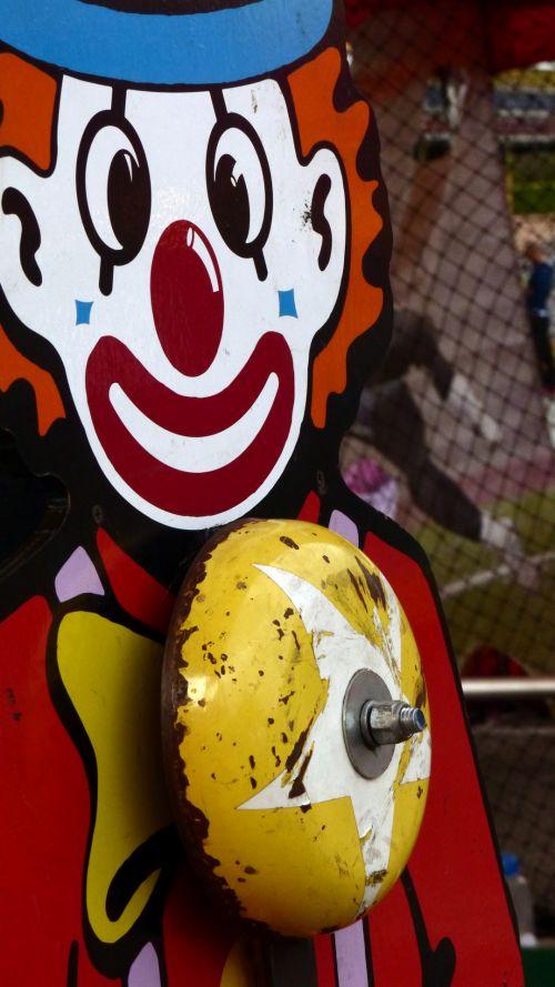 Carnival Clown Bell