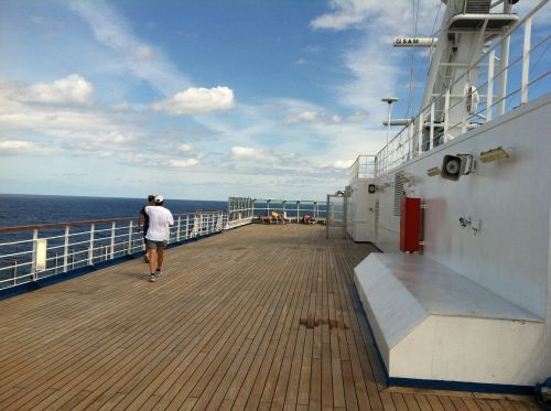 carnival cruise deck vacation