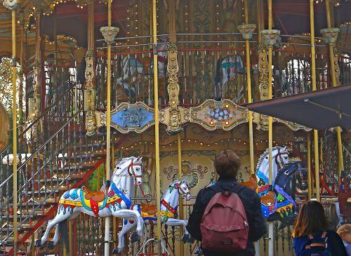 carousel vortex fun