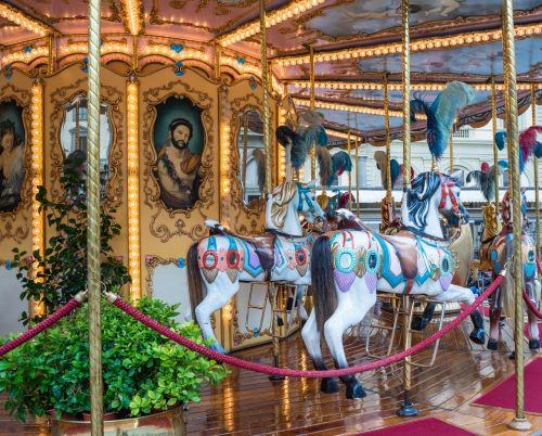 carousel florence italy