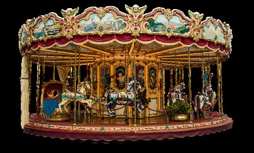 carousel merry go round fun