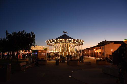 carousel holy-marie de la mer fun fair