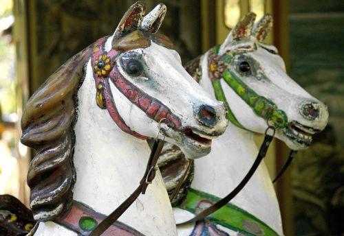 carousel horse children
