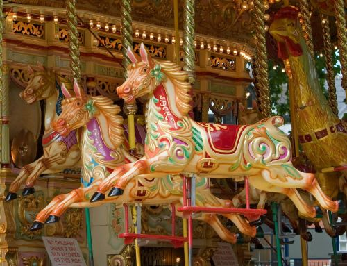 carousel horse horses