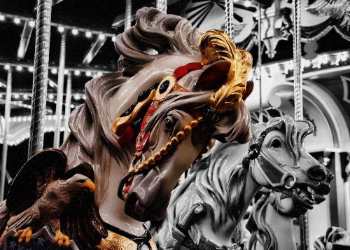 carousel horse merry-go-round