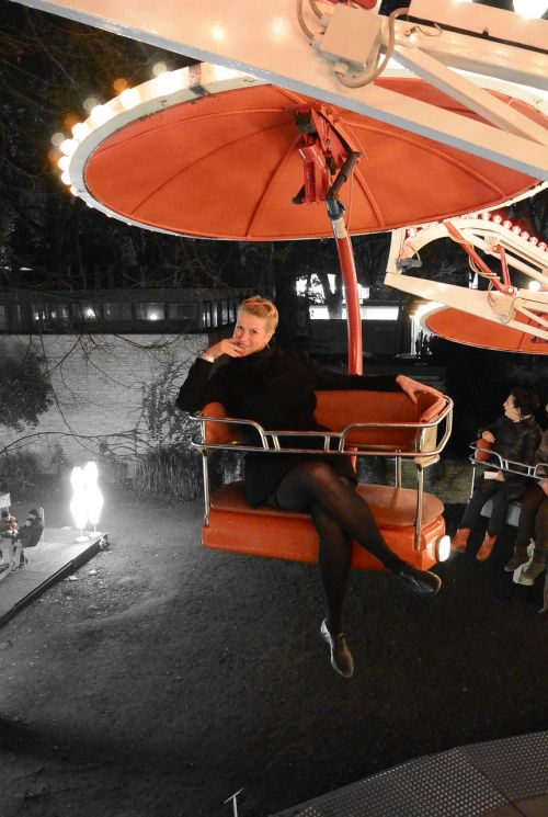 carousel red leisure