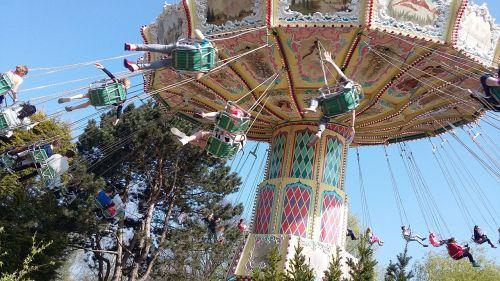 carousel theme funfair