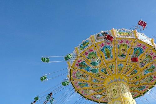 carousel  chain carousel  fair