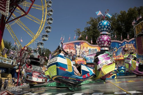carousel  ferris wheel  folk festival
