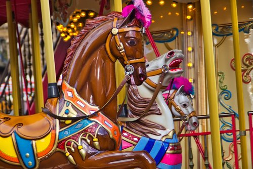 carousel  free market  carousel horse