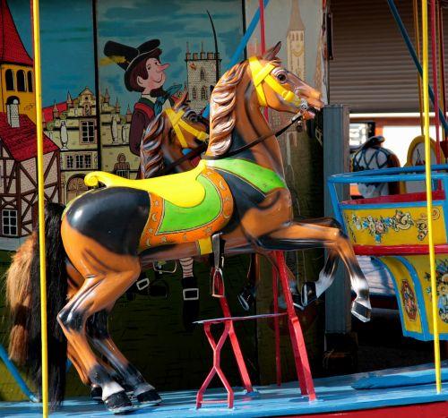 carousel seahorses fair