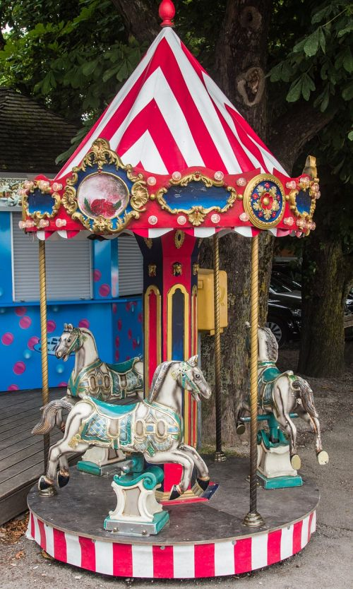 carousel children pleasure