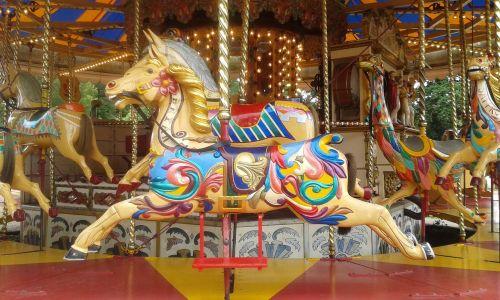 carousel horse victorian carousel ride