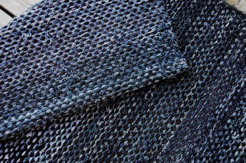 carpet rag rug farkkuräsymatto