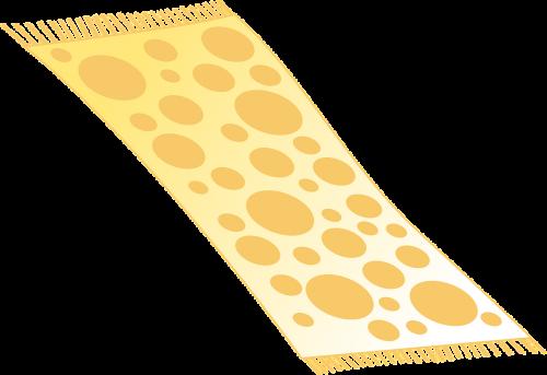 carpet rug yellow