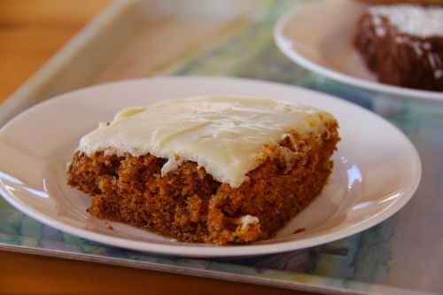 carrot cake tea break