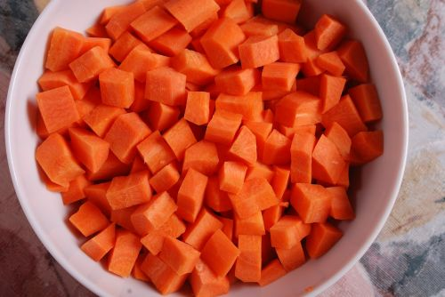 carrots carrot diced