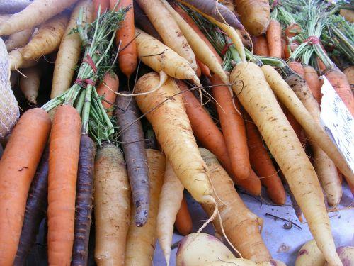 carrots fruits veggies