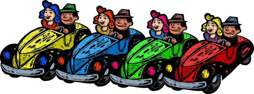 cars traffic cartoon