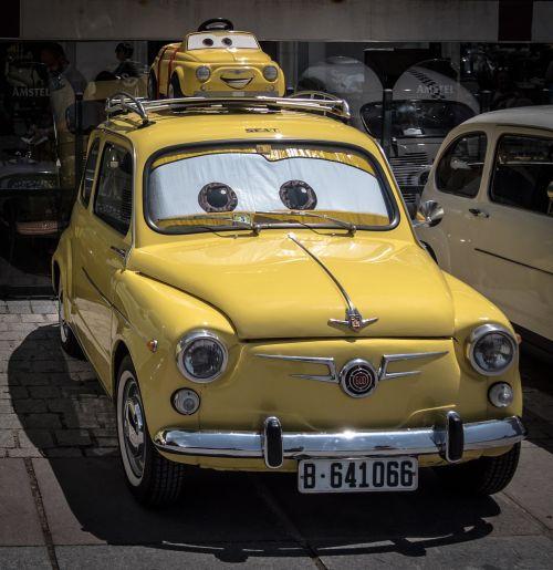 cars car yellow