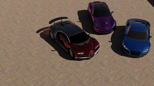 cars  bugatti  chiron