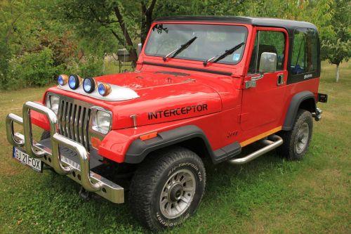 automobiliai,Jeep,off road,raudona,transporto priemonė,Wrangler,mašinos dalys,redakcinis,gabenimas