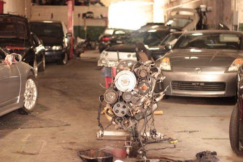 cars motor garage
