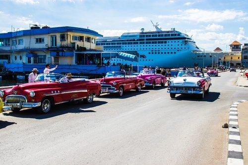 cars classic  havana  classic car