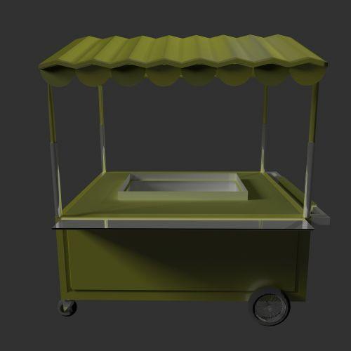 cart vending cart street