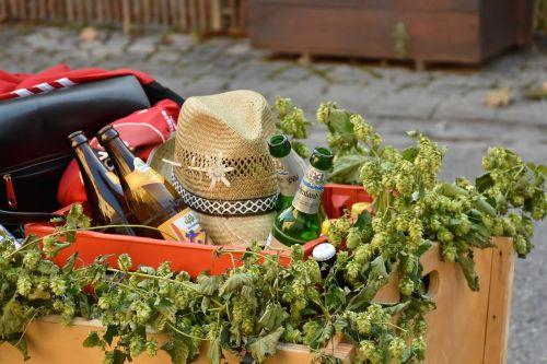 cart stroller beer