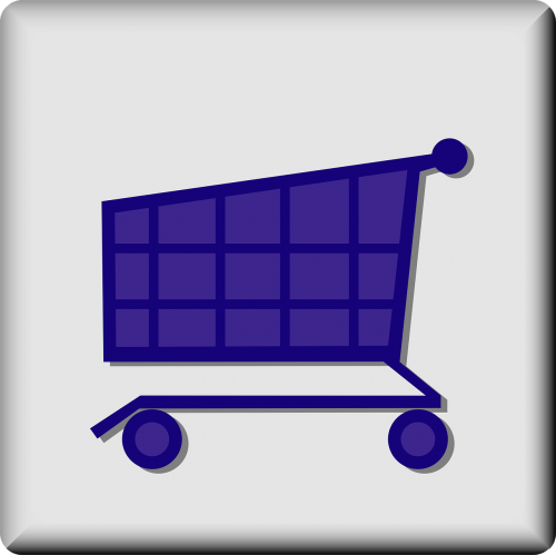 cart grocery store