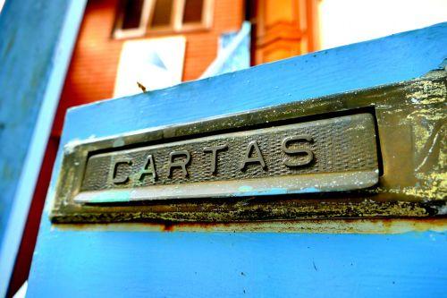 cartas mailslot blue