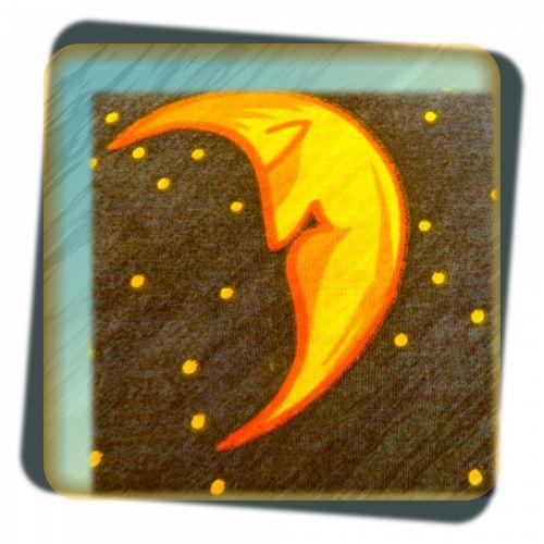 Half Moon Card